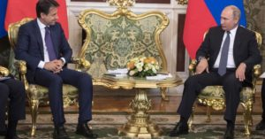 Putin incontra Conte: nessuna remora a comprare titoli di stato italiani